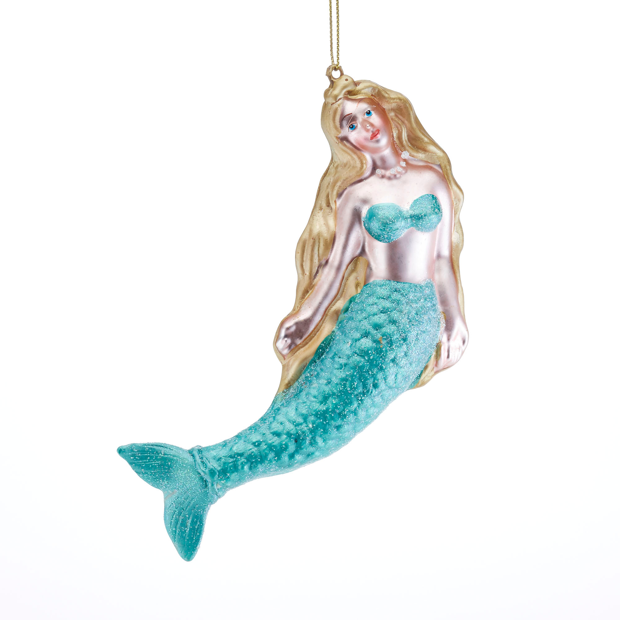 Under-The-Sea Mermaid Christmas Ornament
