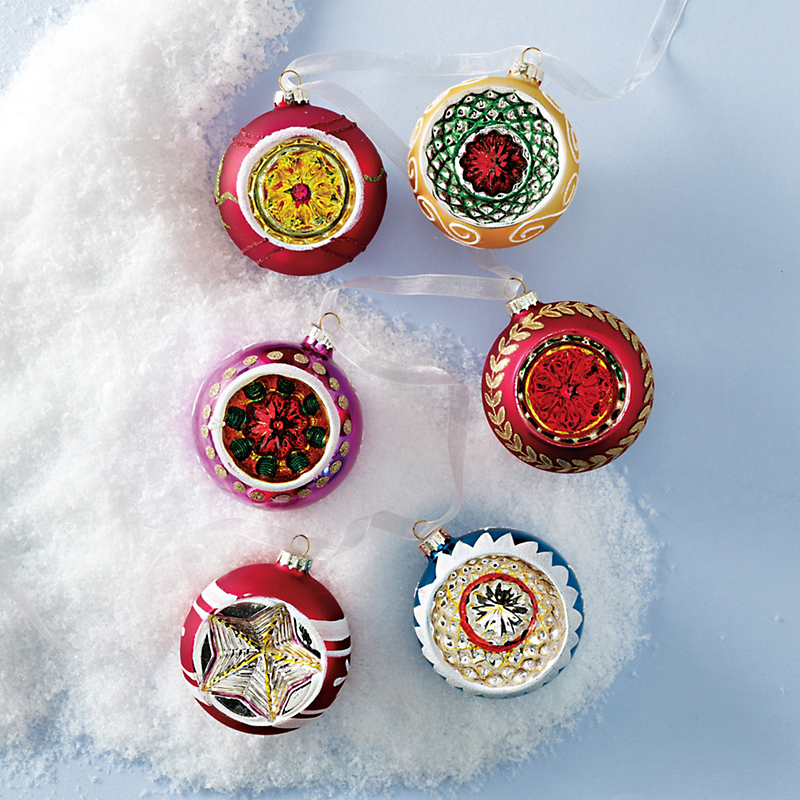 Traditional Reflector Ball Ornaments