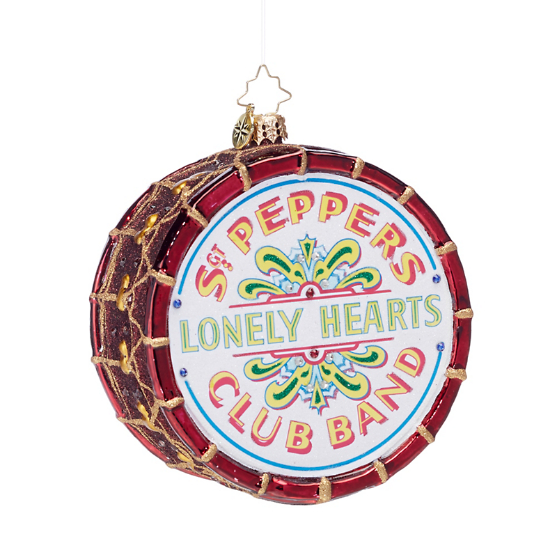 Sgt. Pepper's Drum Christmas Ornament