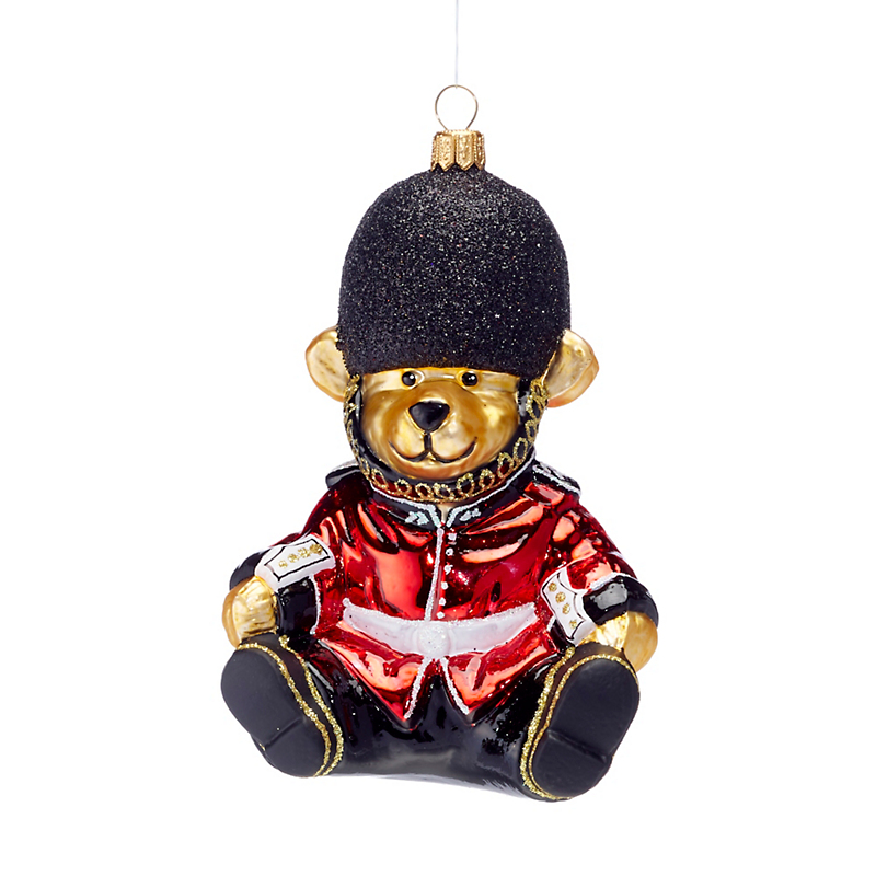Royal Beefeater Bear Christmas Ornament