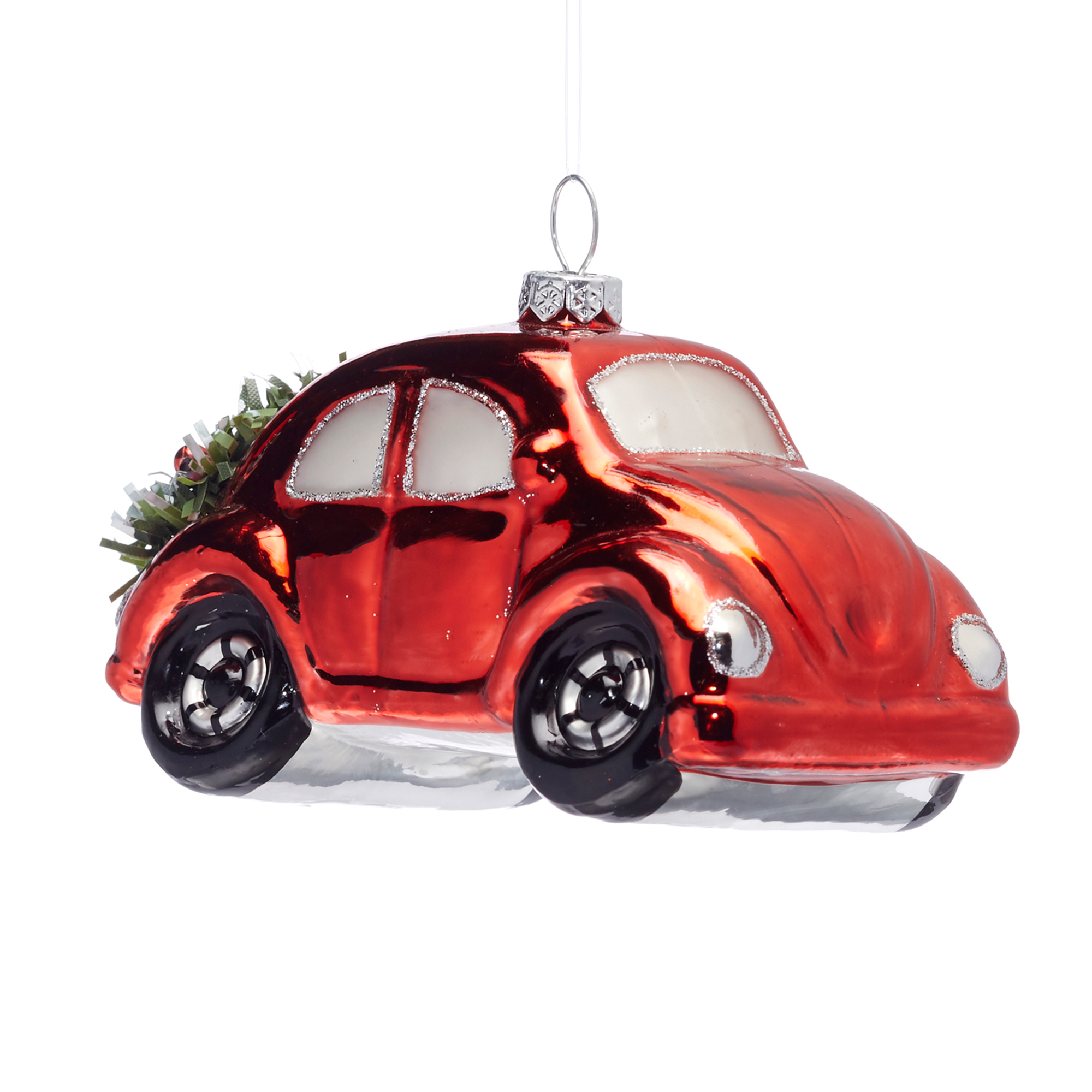 21st Century Red Car Christmas Ornament