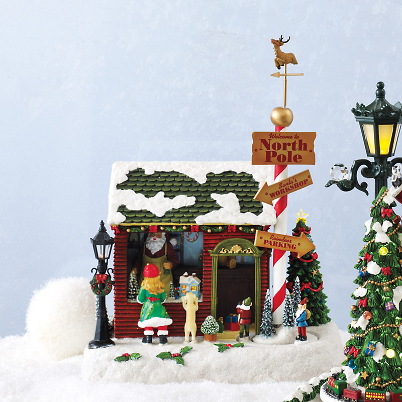 Santa's North Pole Toy Shop