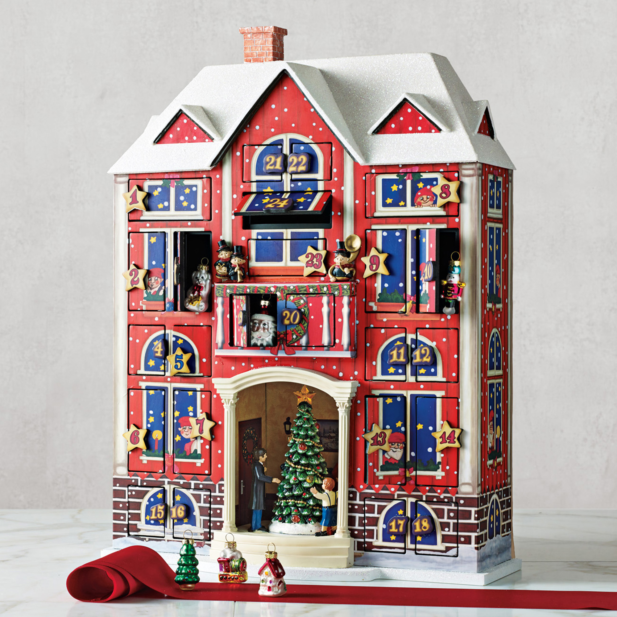 Animated Advent Calendar & Mini Ornament Set