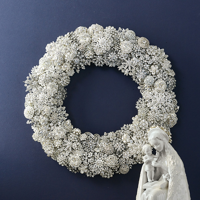 Limited Edition Jeweled Wreath