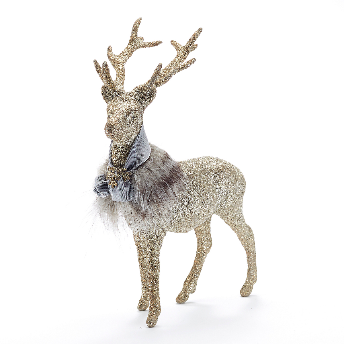 Fancy Silver Forest Deer