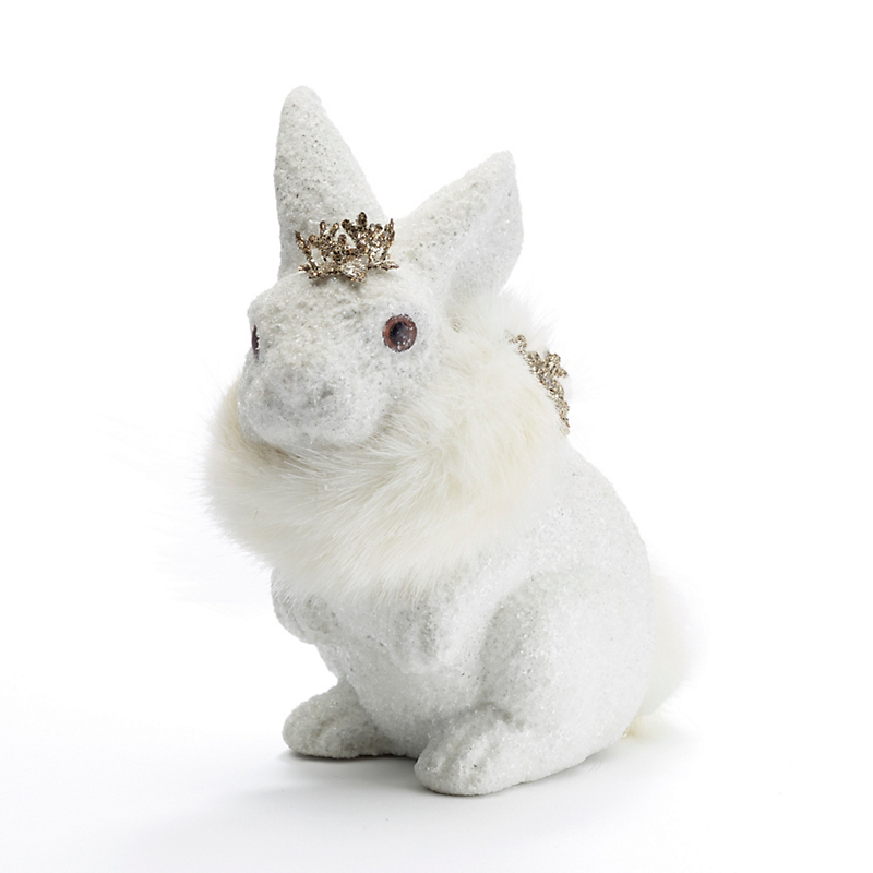 Fancy Silver Forest Bunny