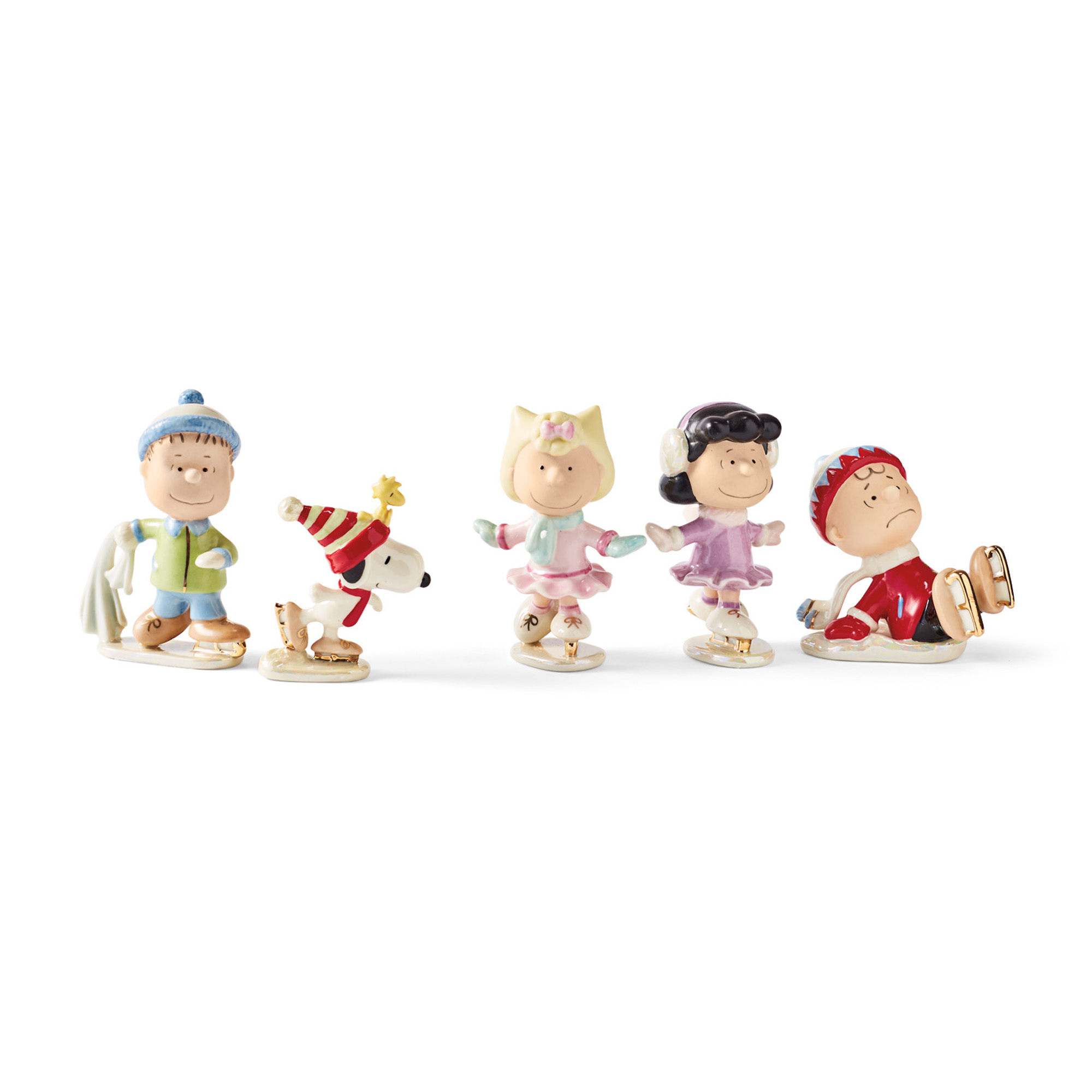 Peanuts Ice Skating Party Set