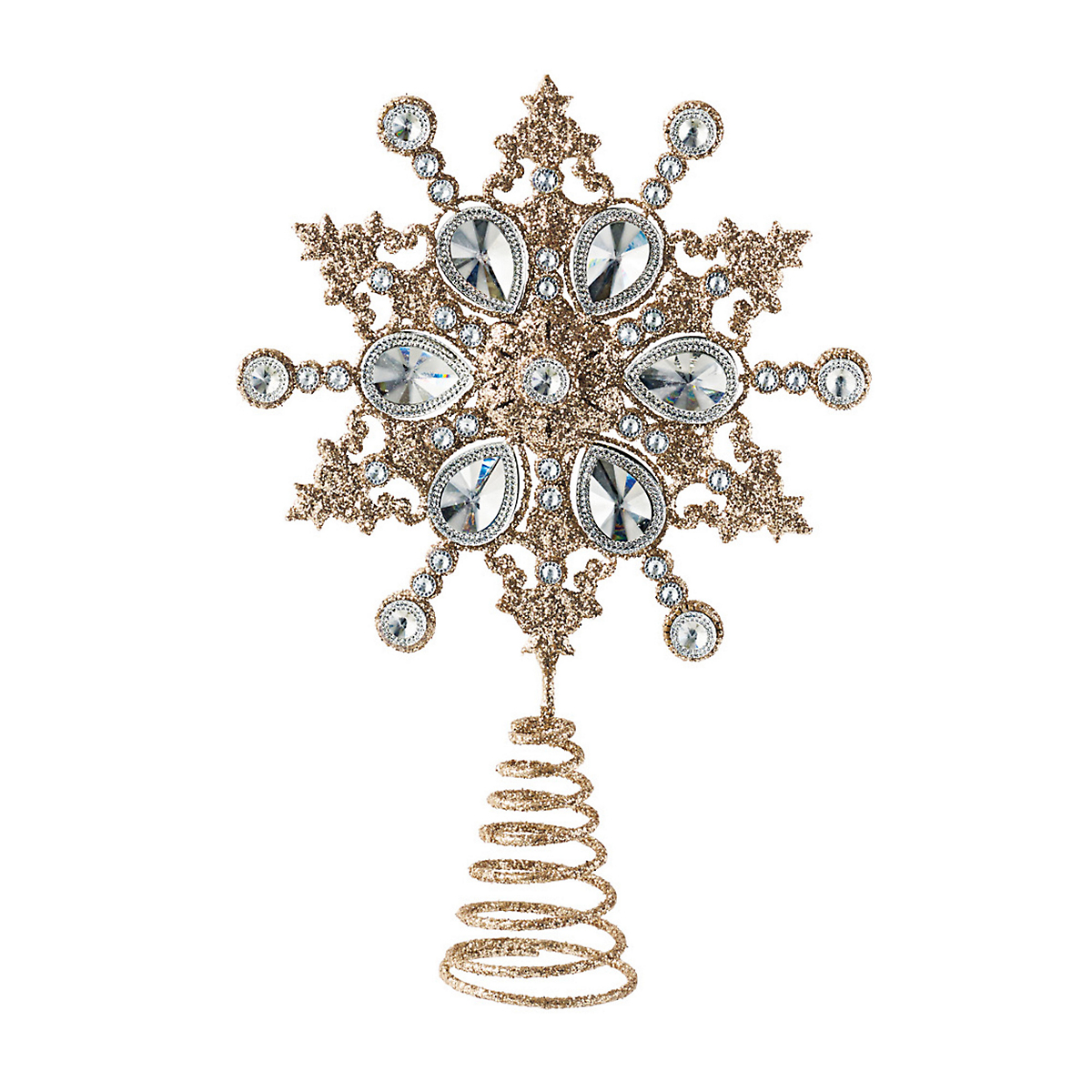Jewel Snowflake Tree Topper