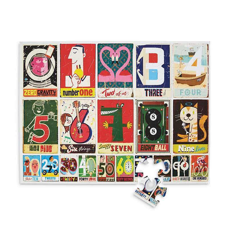 Alphabet & Numbers Puzzles, Set Of 2