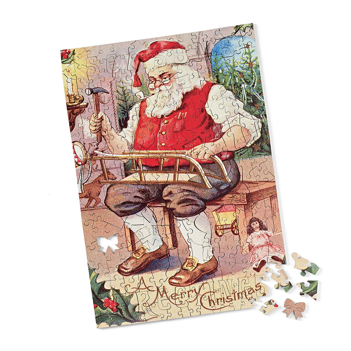 Santa's Workshop Puzzle