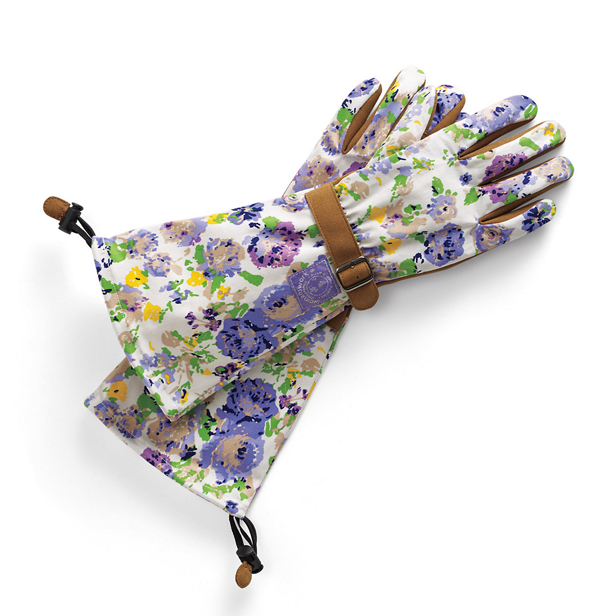 Purple Rose Garden Gloves