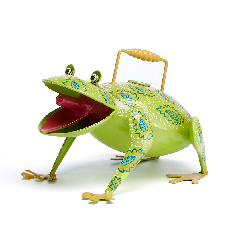 Menagerie Green Frog Watering Can