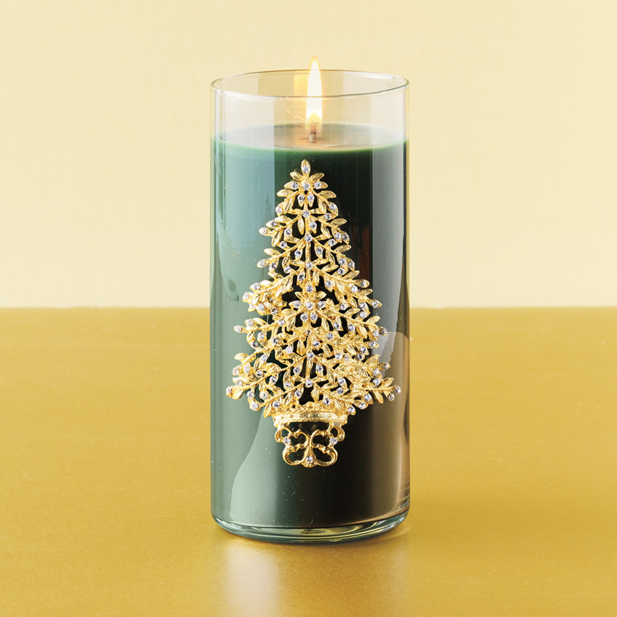 Swarovski Christmas Tree Candle