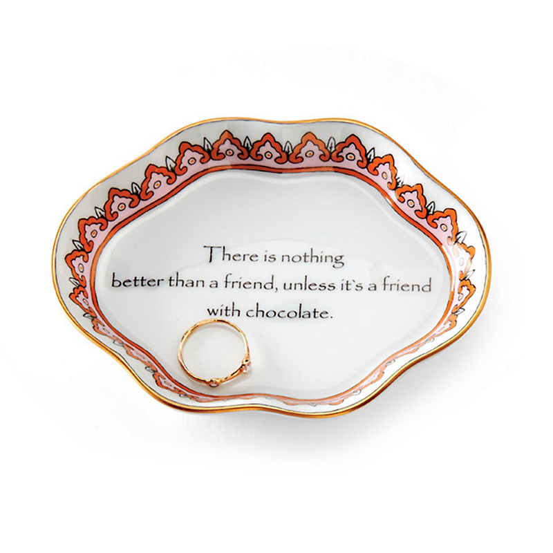 There Is Nothing Better Than A Friend... Trinket Dish