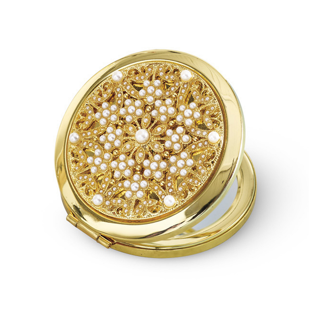 Pearl & Gold Compact