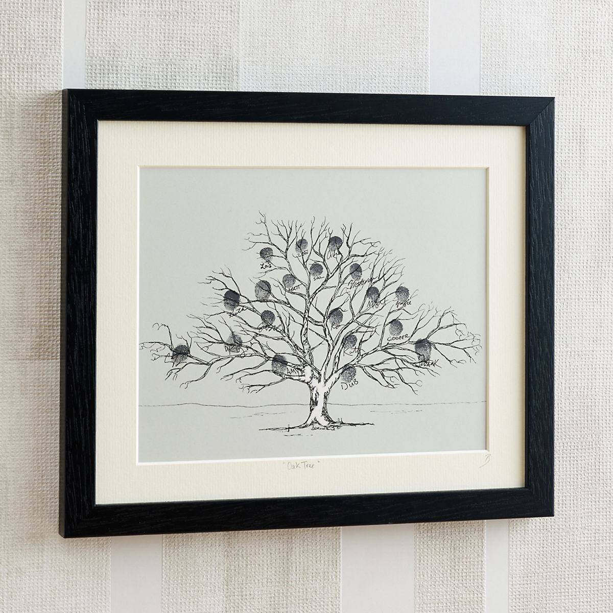 Friends & Family Tree, Black