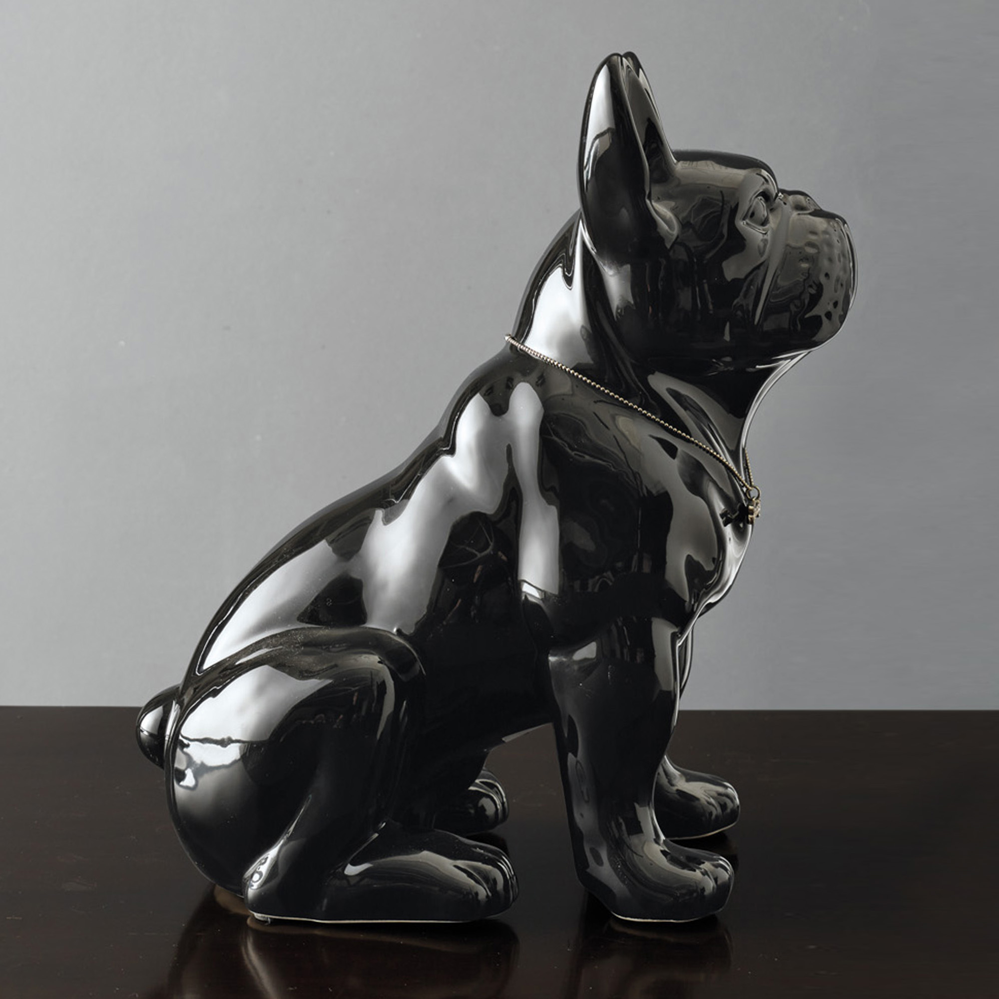 Good Dog Bulldog Figure, Black