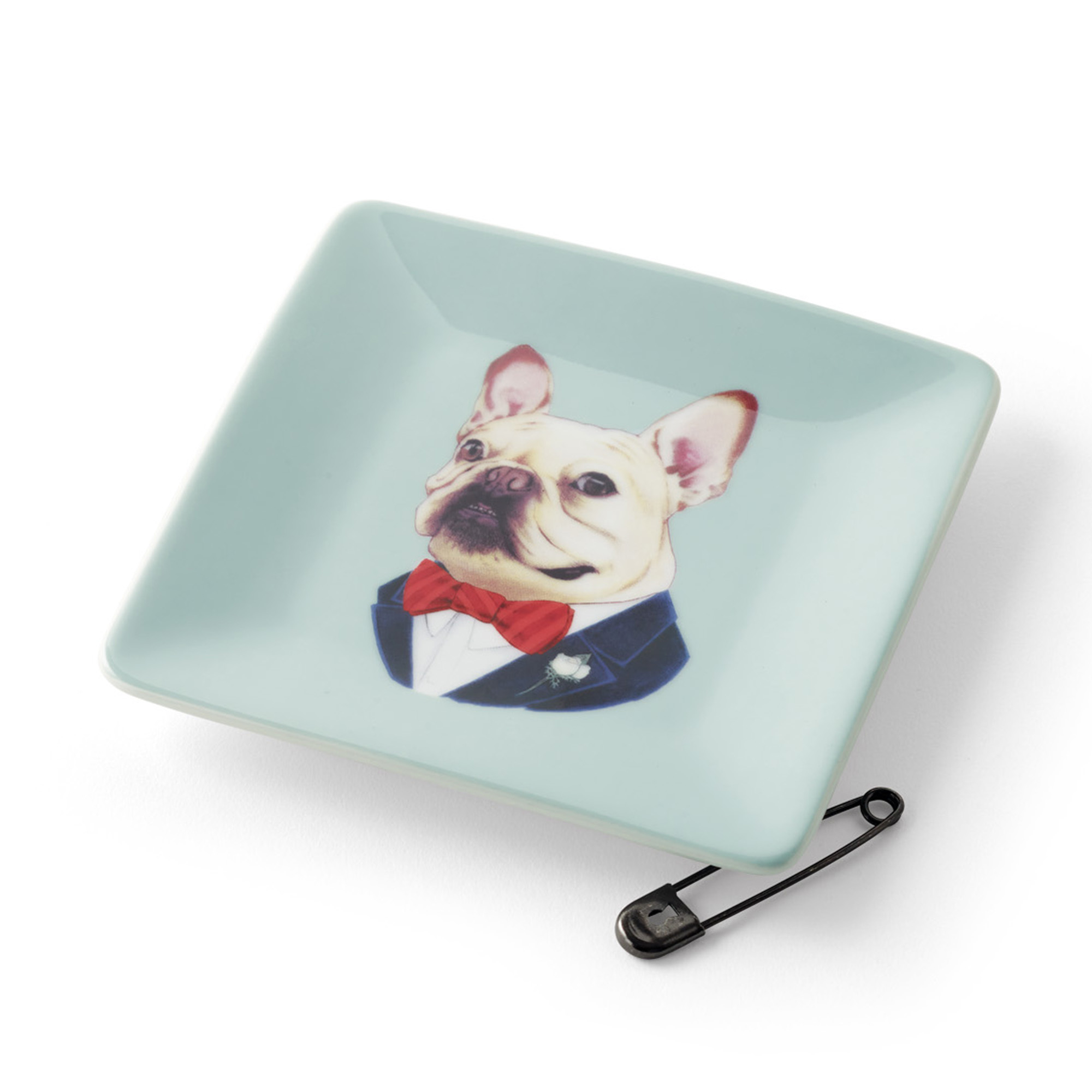 Frenchie Dog Trinket Dish