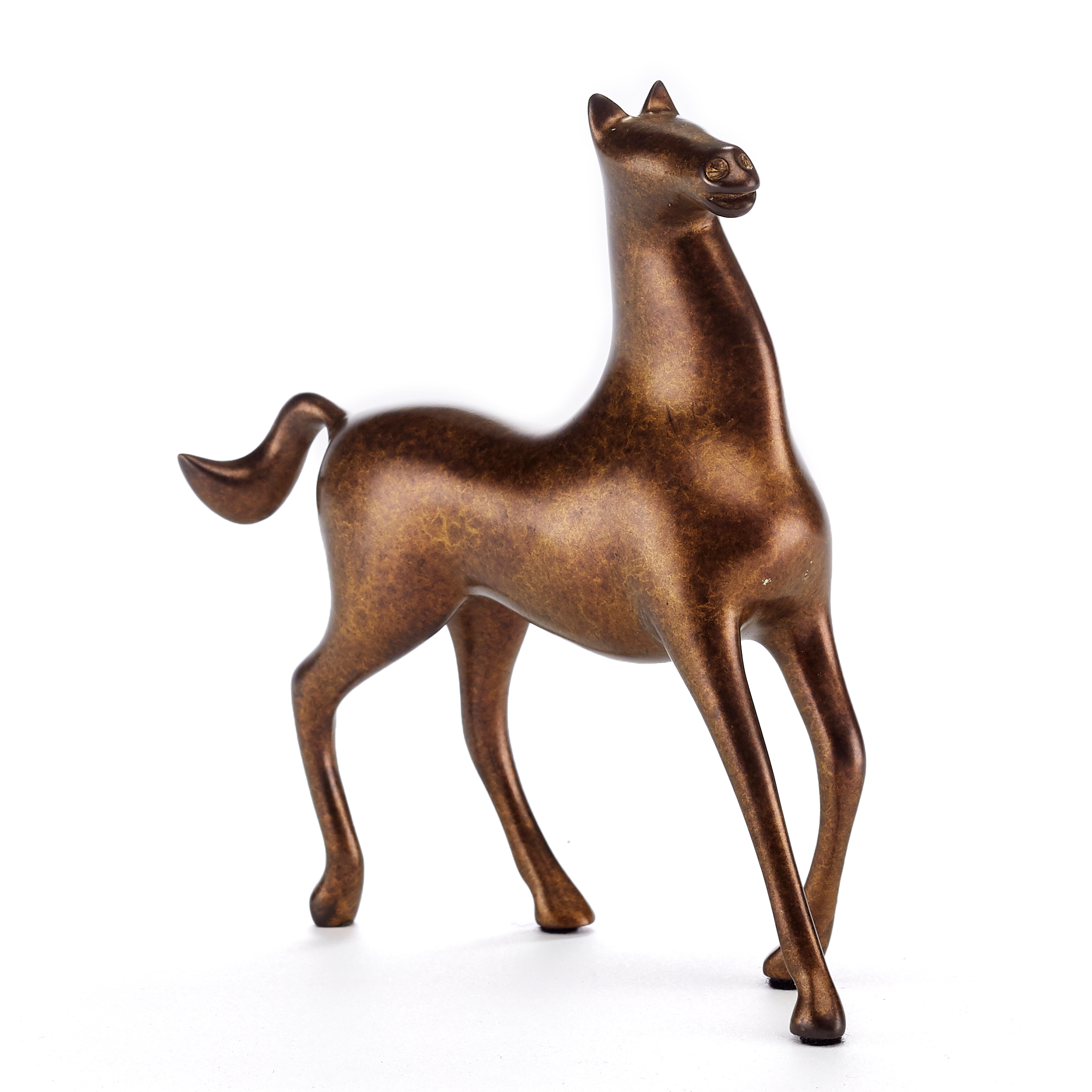 Loet Vanderveen Noah'S Horse In Gold Dust Figure