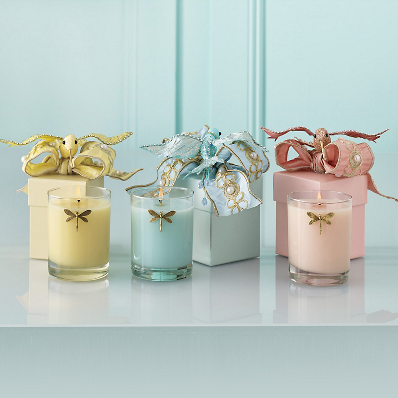 Spring Equinox Candles, Sky Blue