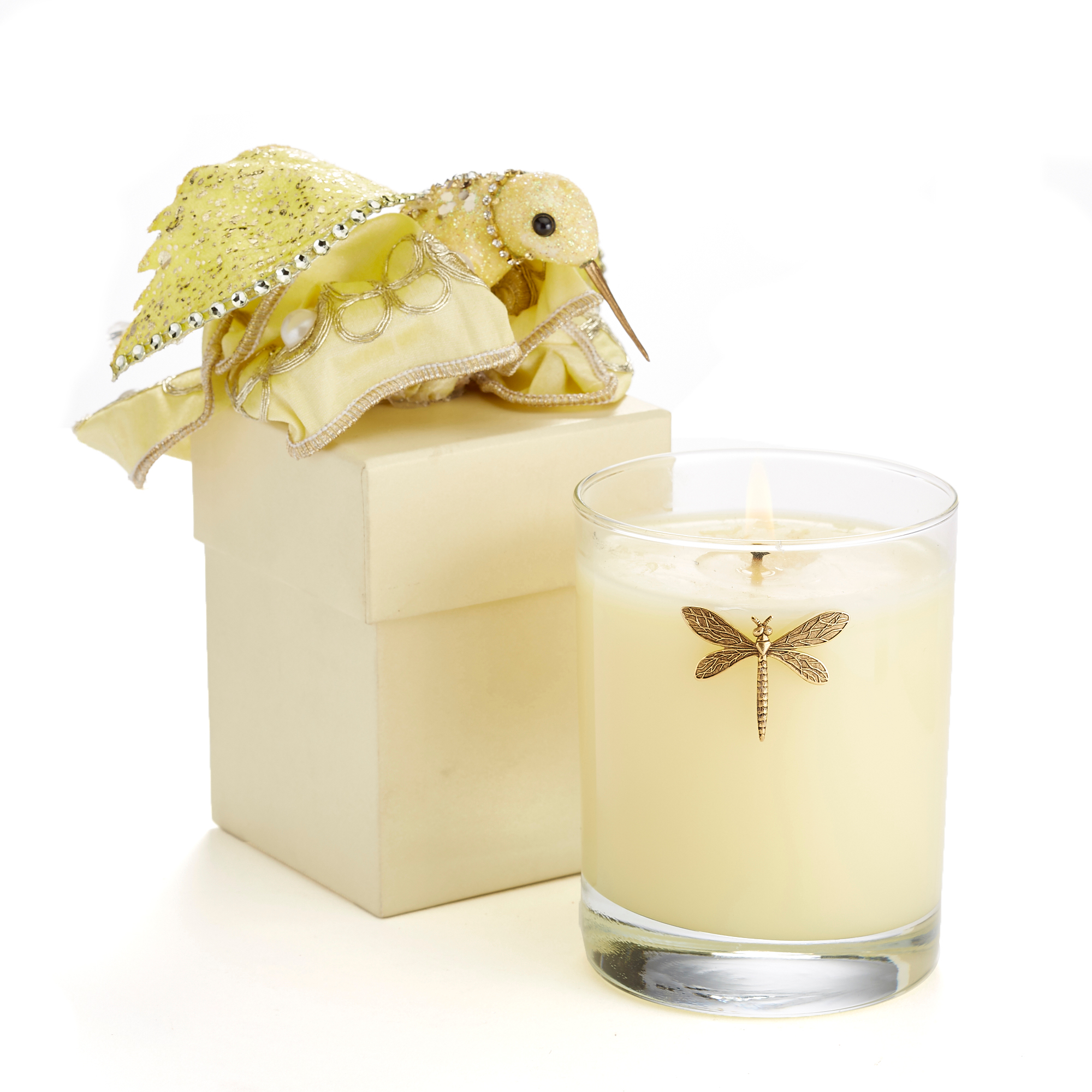 Spring Equinox Candles, Yellow