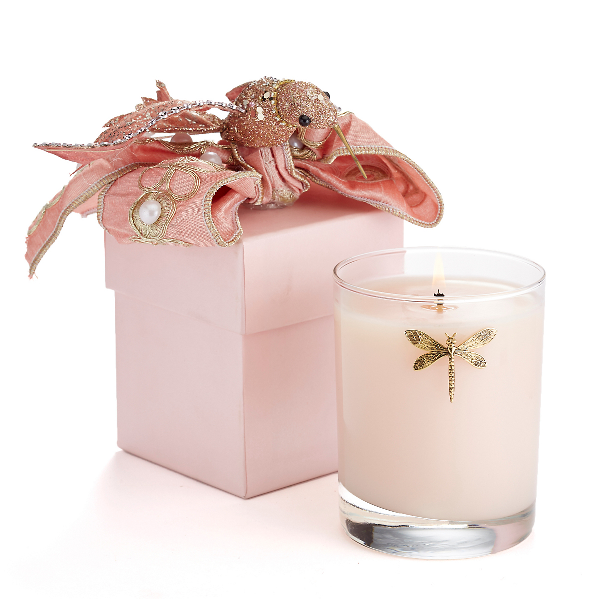 Spring Equinox Candles, Pink