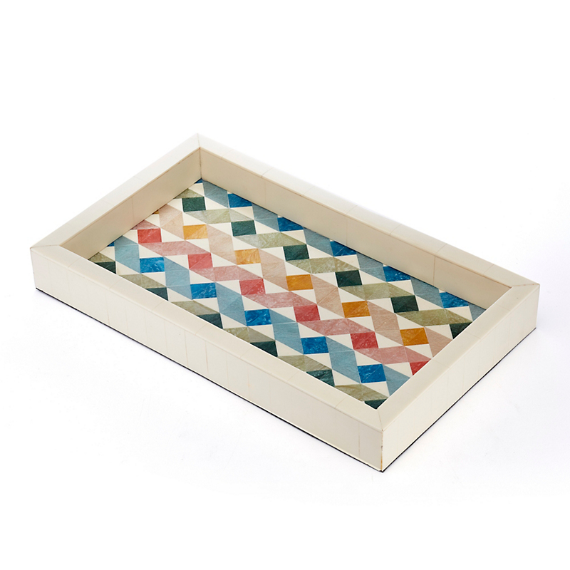 Modernism Bone Inlay Trays