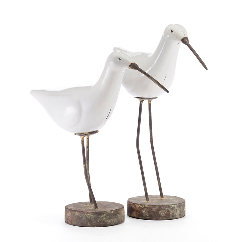 Pair Of Kiwi Bird Figures