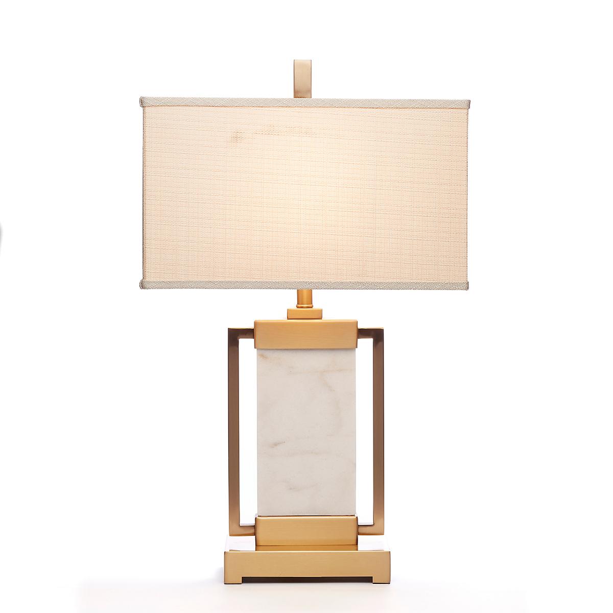 Hudson marble lamp