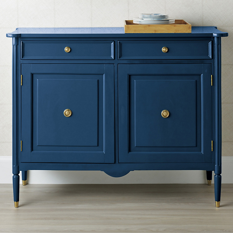 Kilkenny Lacquered Chest, Navy