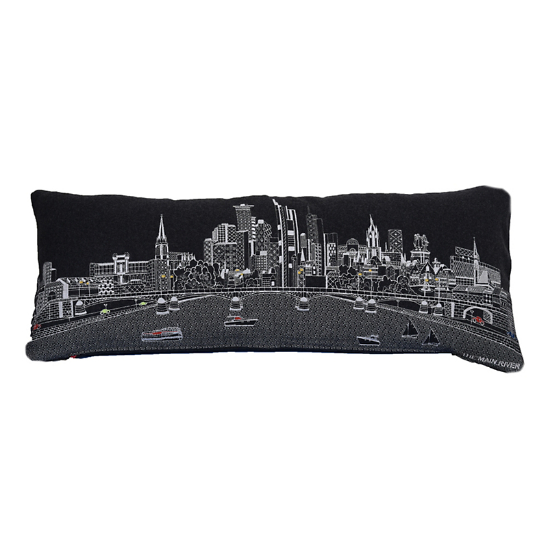 City Skyline Pillow, Frankfurt