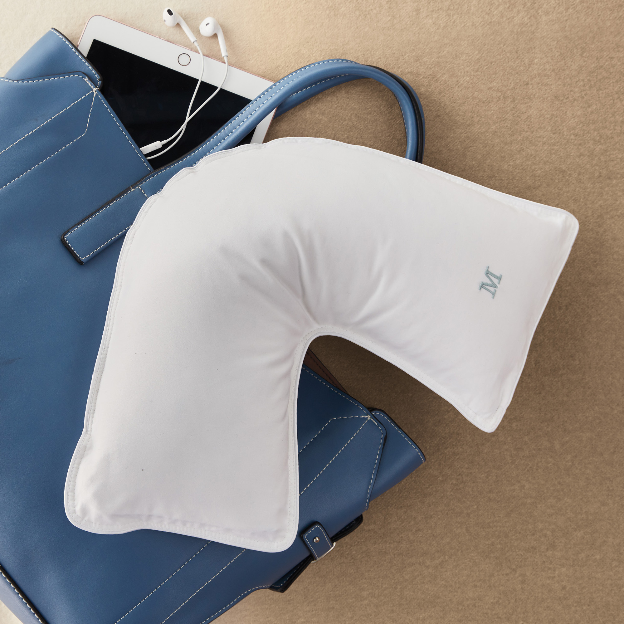 Gump's Luxe Travel Pillow