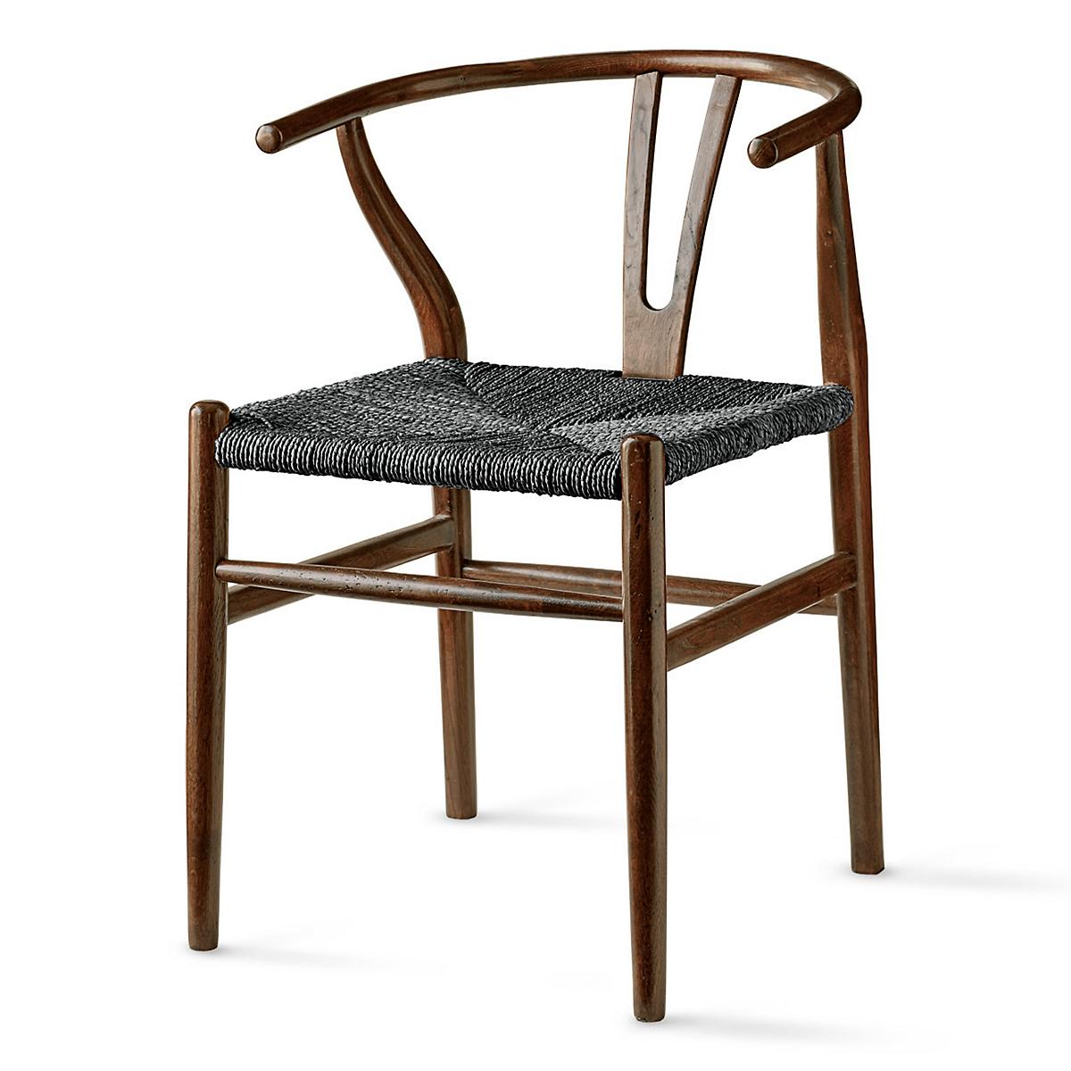 Delicieux Horseshoe Chair, Espresso