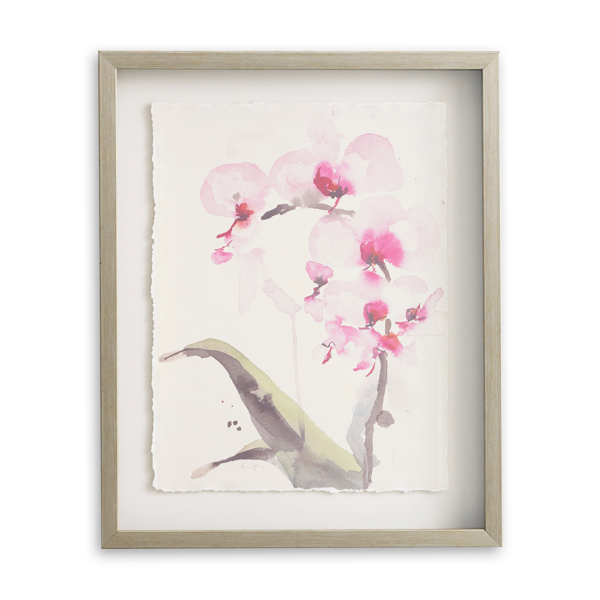Pink Orchid Artwork
