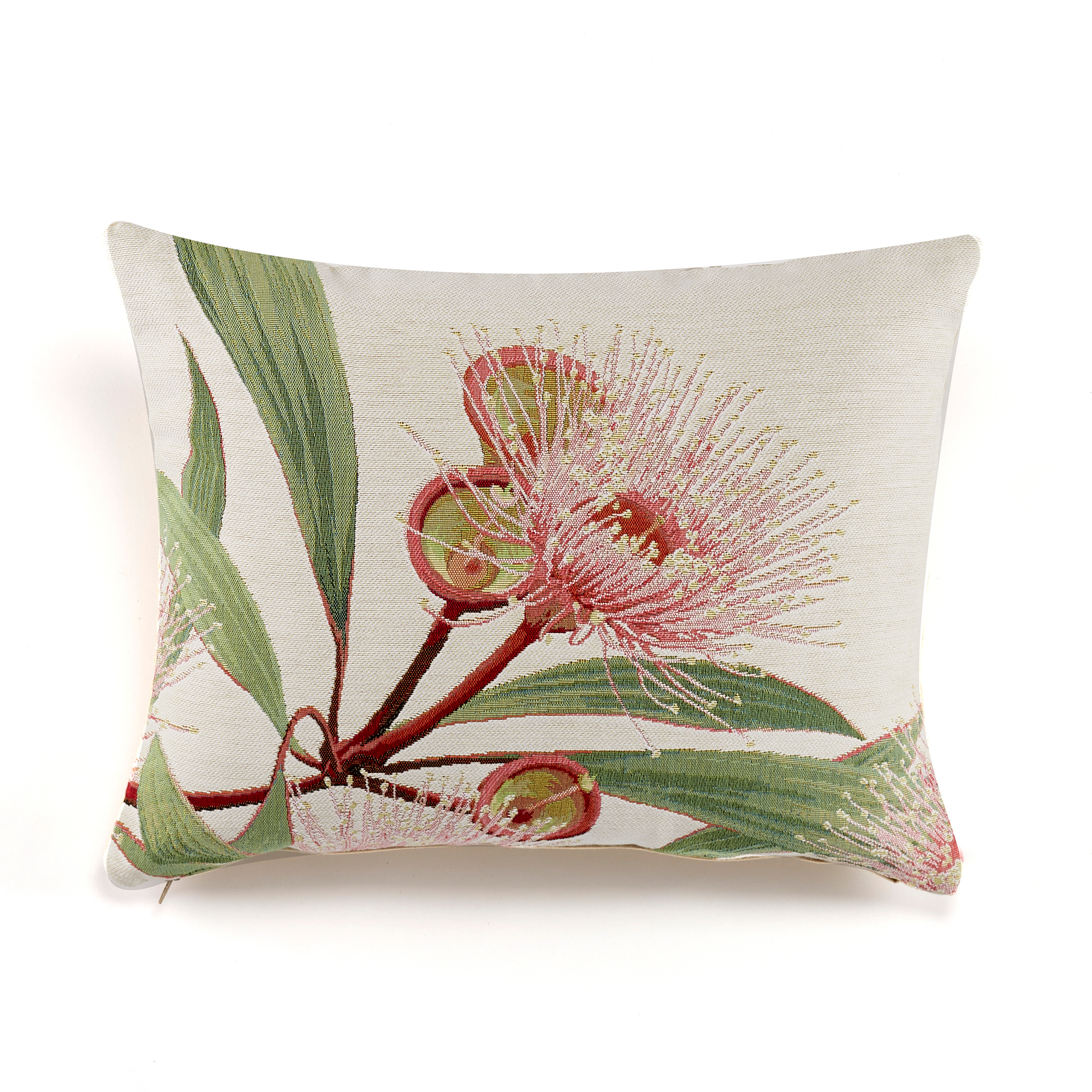 Paradise Garden French Tapestry Pillows, Pink Blossom