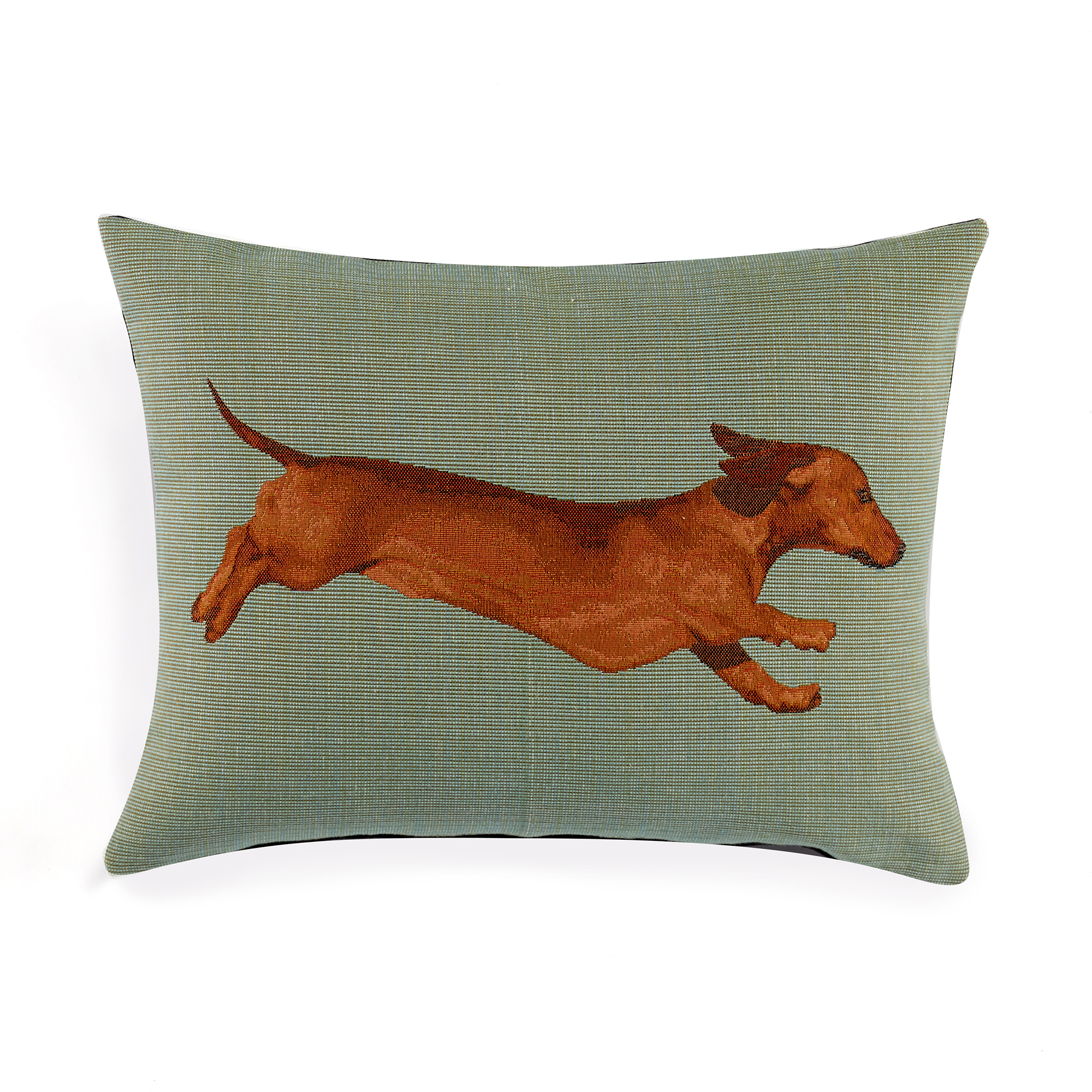 Dachshund Tapestry Pillows, Lumbar