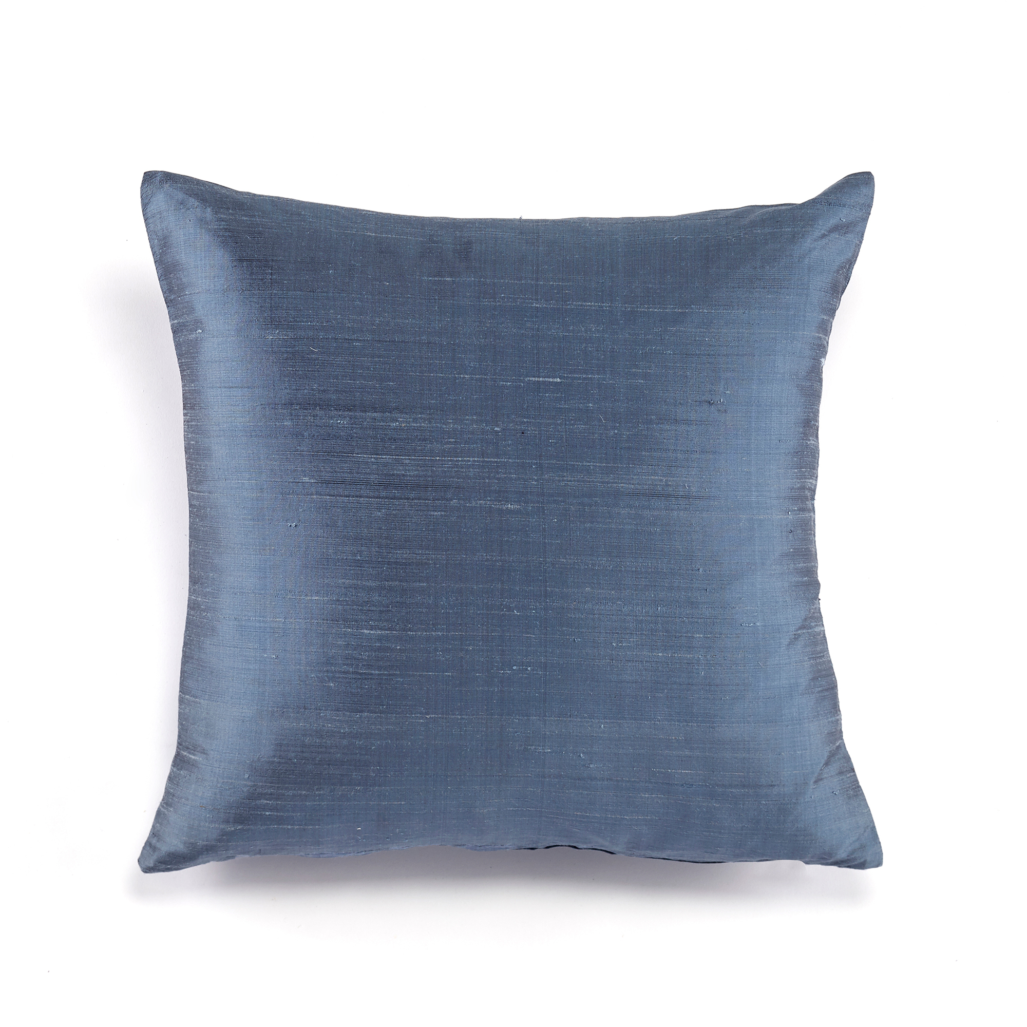 Dupioni Silk Pillows, Blue