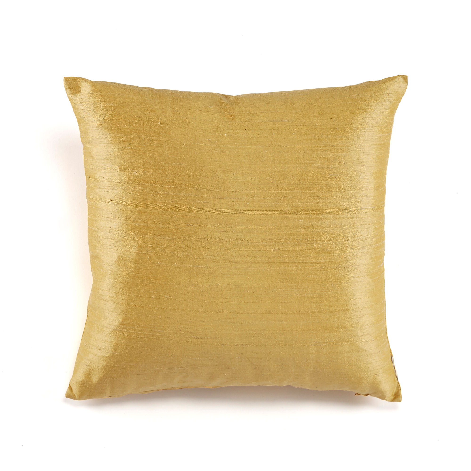 Dupioni Silk Pillows, Citron