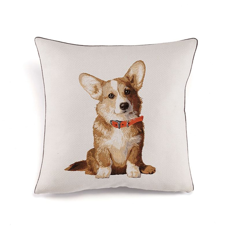 Corgi Tapestry Pillow