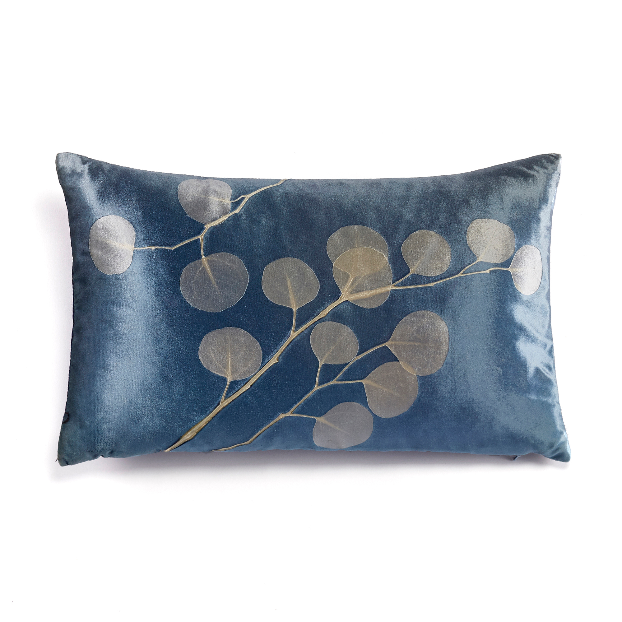 Aviva Stanoff Velvet Leaf Pillow