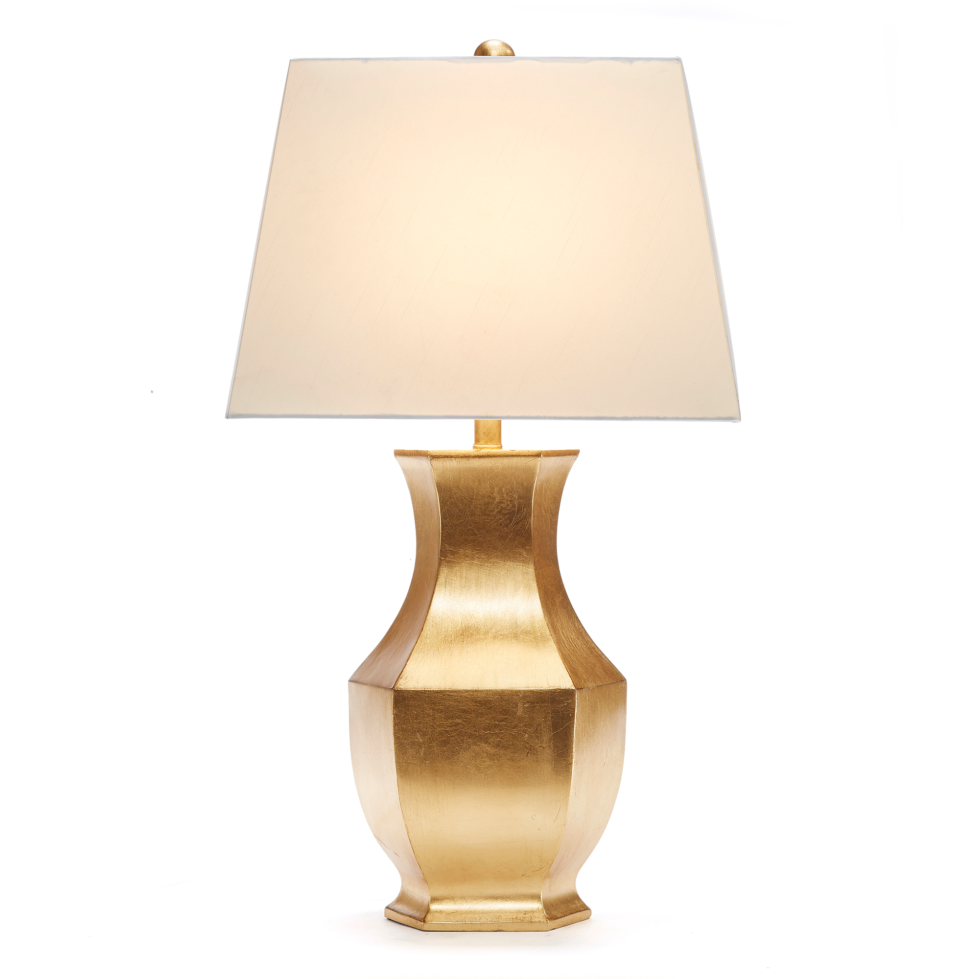 Mason Gold-Leaf Lamp