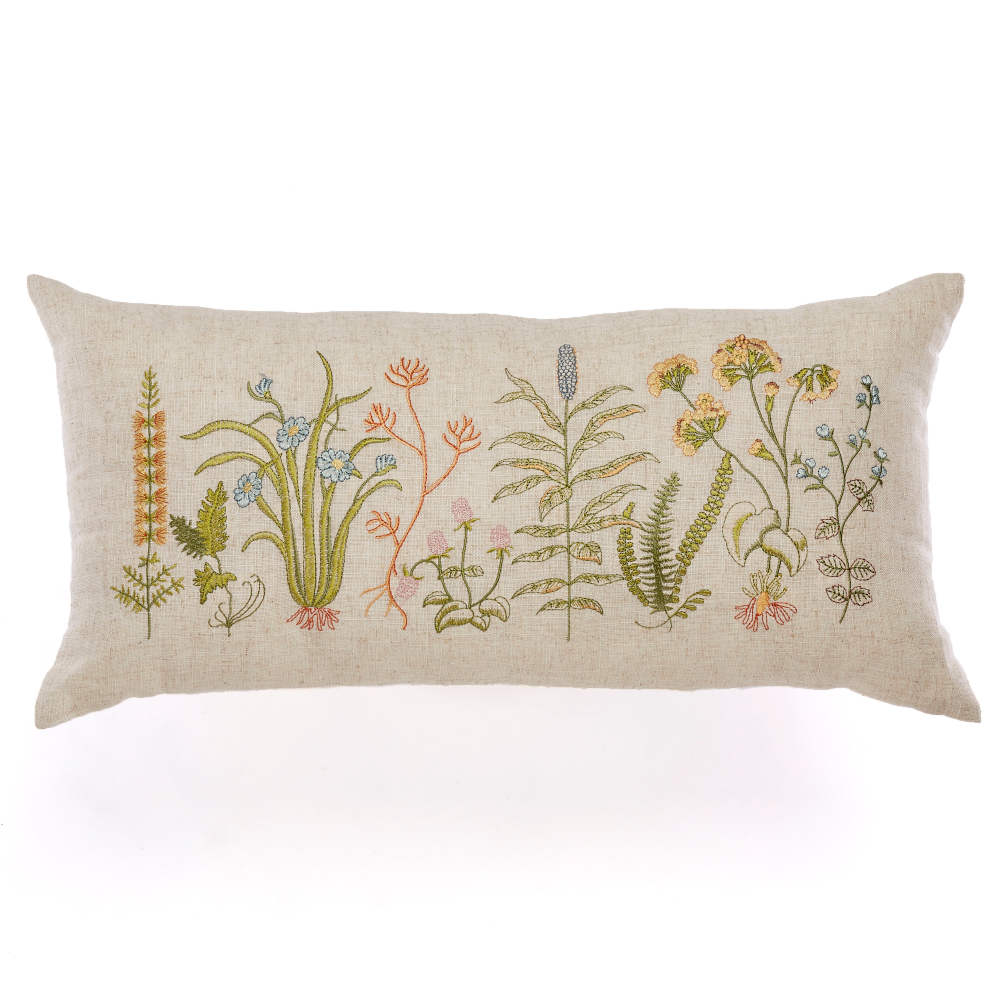 Meadow Embroidered Pillow
