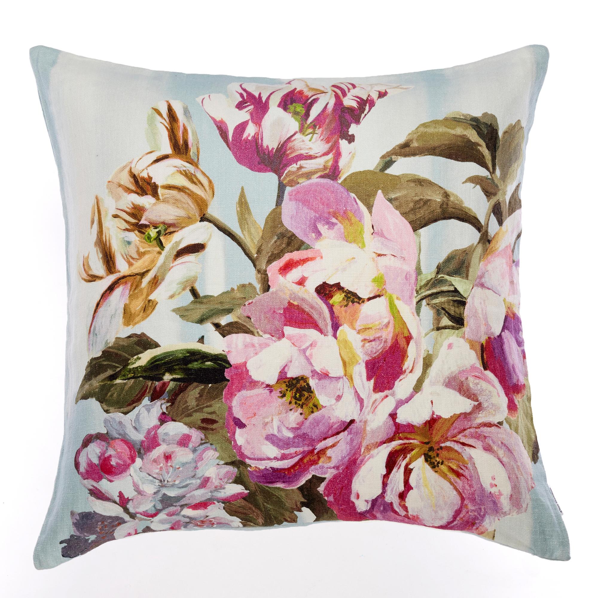 Designers Guild Garden Pillow Pink Floral Gumps