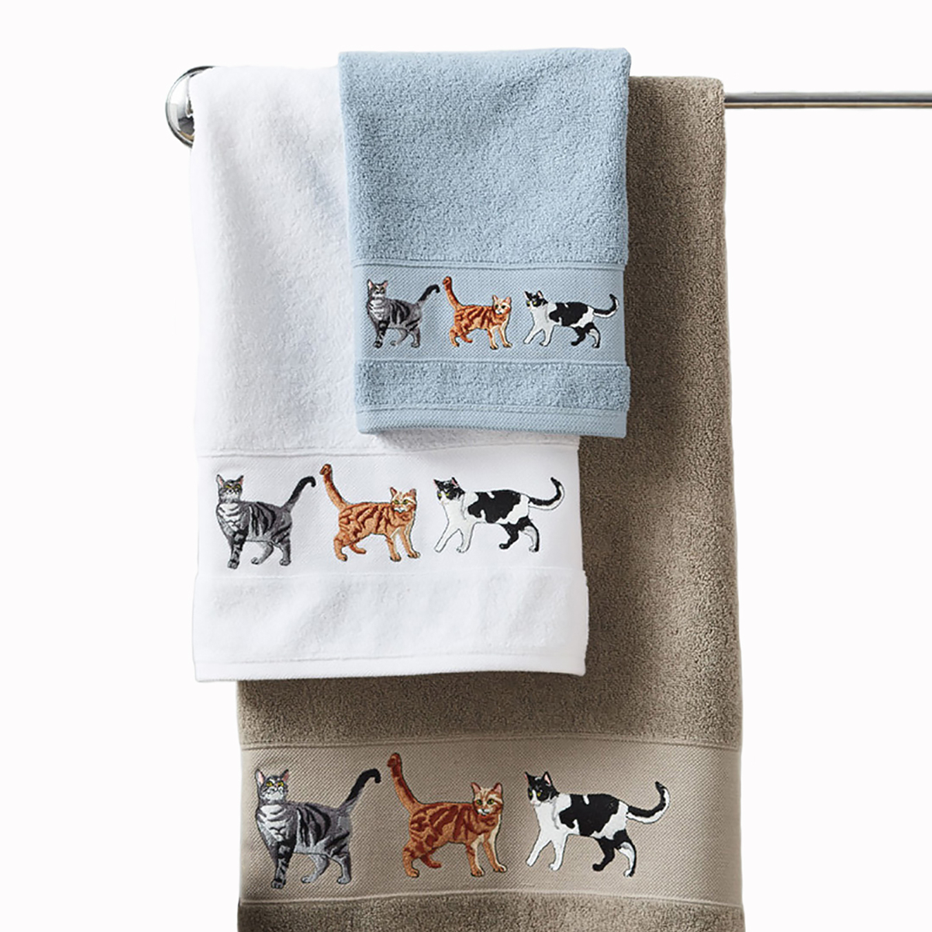 Cat Parade Towels