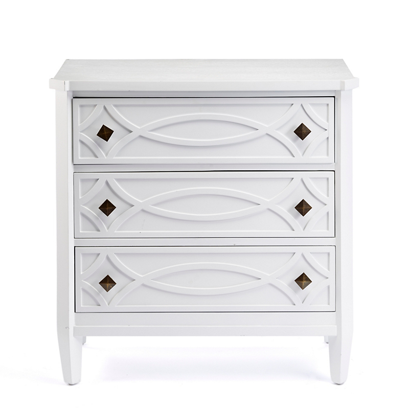 Mayfair Chest, White