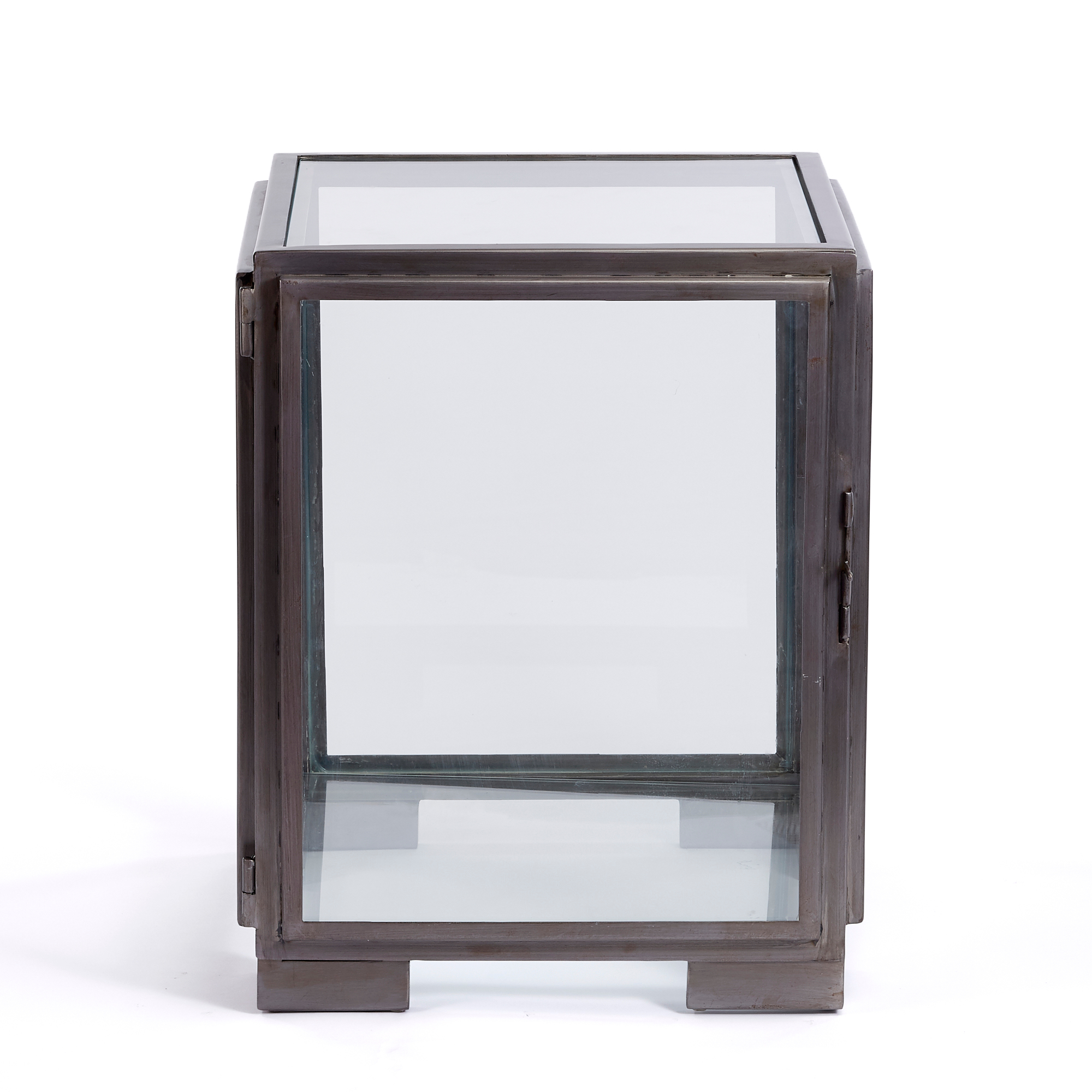 Glass Cube Display Table