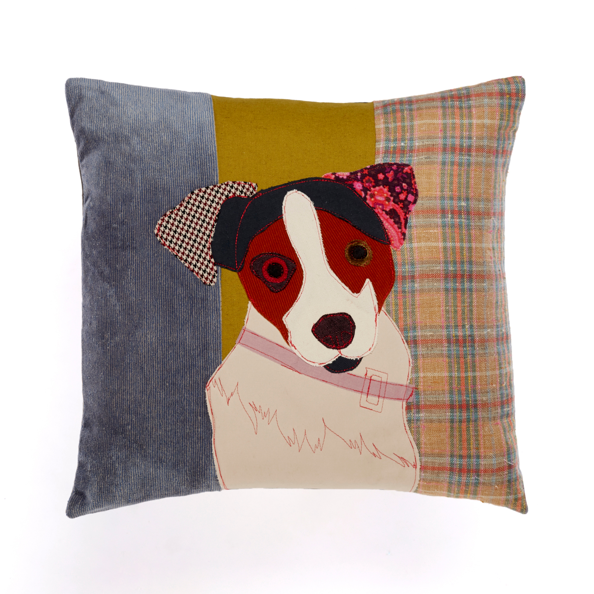 Man's Best Friend Pillow, Jack Russell