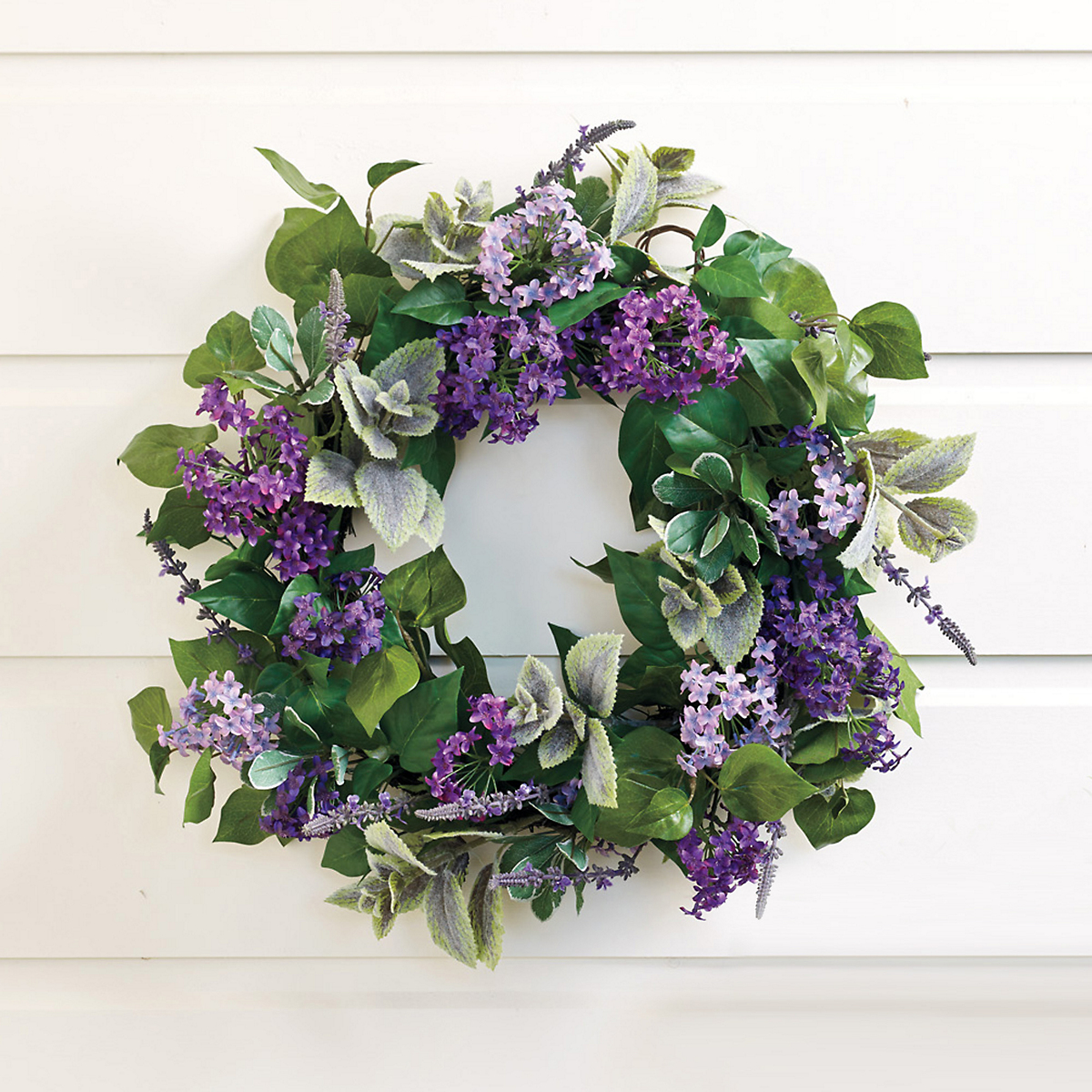 French Lilac & Lavender Wreath