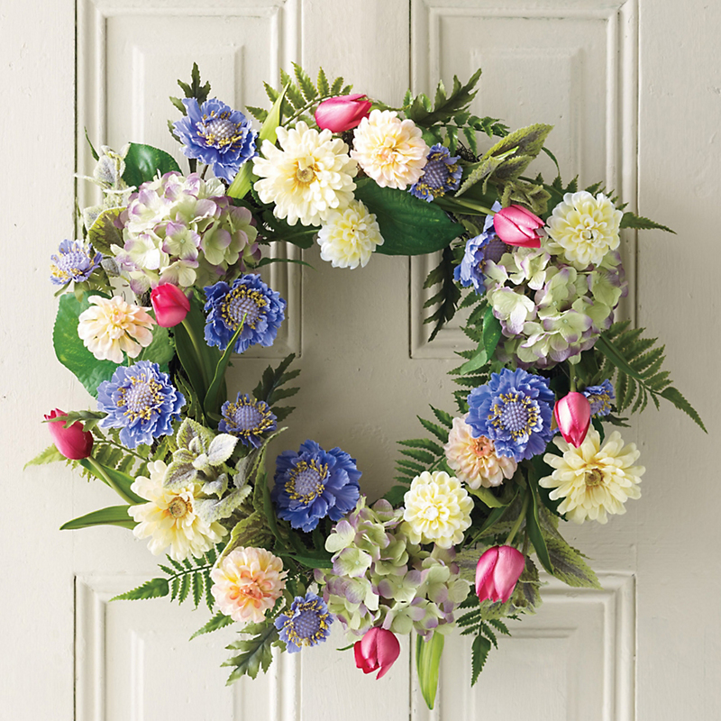 Mount Shasta Wildflower Wreath