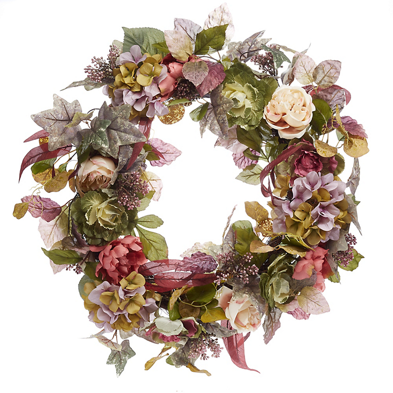 Summer Cottage Wreath